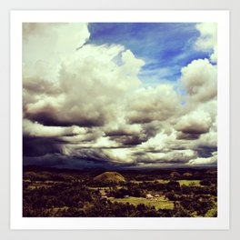 The Chocolate Hills I Art Print