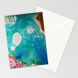 Environmental Series #5 Rare Octopus Marvels at the Ocean Stationery Cards