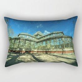 Crystal Palace of Madrid Rectangular Pillow