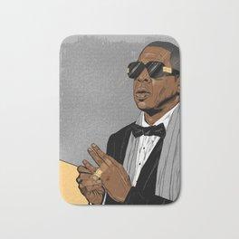 "Jay Z - ""Grey Hova"" Bath Mat"