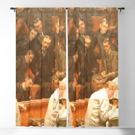 Thomas Eakins - The Agnew Clinic Blackout Curtain