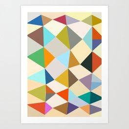 Shaped Art Print