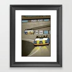 Capri at Le Mans Framed Art Print