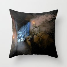 Castlevania: Vampire Variations- Hall Throw Pillow