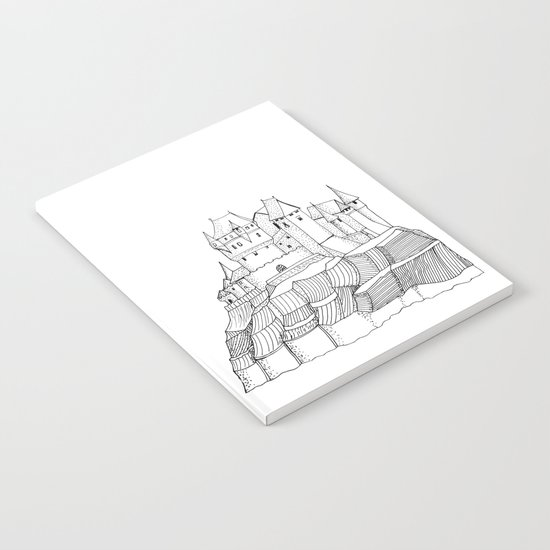 Castle on the cliff Notebook