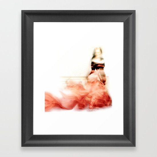 Lady Rose Framed Art Print