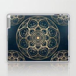 Mandala Night Blue Laptop & iPad Skin