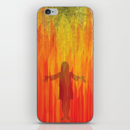 hephaestus in her hands iPhone & iPod Skin