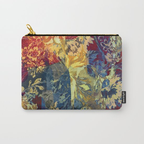 hide and seek floral 2 Carry-All Pouch