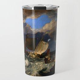 """J.M.W. Turner """"Calais Pier"""" Travel Mug"""