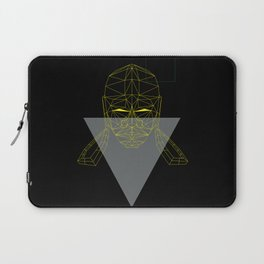 polygon head Laptop Sleeve