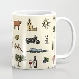 South of France pattern Coffee Mug