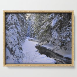Snowy River Serving Tray