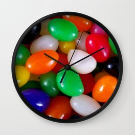 Art of Jelly Beans Wall Clock