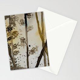 Backlit Forest Stationery Cards