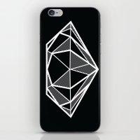 diamond iPhone & iPod Skins featuring Diamond by stephanie nichole