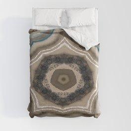 Geode Glam Kaleidoscope  Duvet Cover