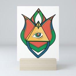 Ornamental Illuminati  Mini Art Print