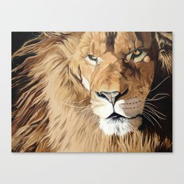 Fierce Protector Canvas Print