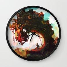 Borderline Wall Clock