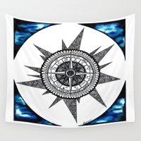 zodiac Wall Tapestries featuring Zodiac  by HaleySayersArt