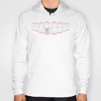 dentist Hoodies featuring Matryoshka Teeth - Dentist Special by Rozenblyum Couture