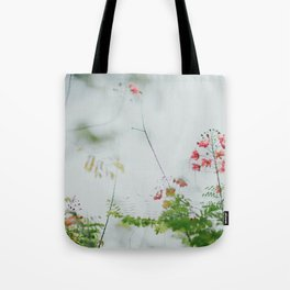 flower photography by chuttersnap Tote Bag