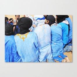 Moroccan song  Canvas Print