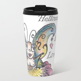 Hello, my little Lovebug, says the Butterfly Travel Mug
