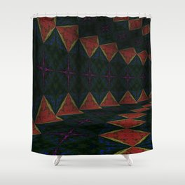 Iconic Hollows 18 Shower Curtain