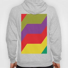 Some strange lightnings in different colors and shapes... Well... almost lightnings... Hoody