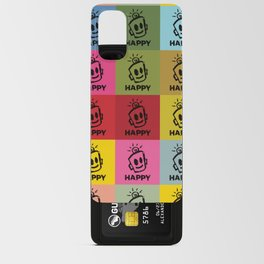 HAPPY SQUARES Android Card Case