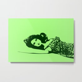Discarded (Green) Metal Print