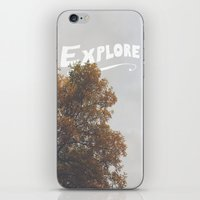explore iPhone & iPod Skins featuring Explore by Zach Terrell