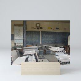 Olden Schoolhouse Mini Art Print