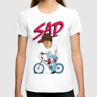 sad T-shirts featuring Sad by Chris Piascik