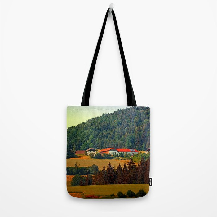 Farm taking an afternoon nap Tote Bag