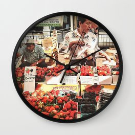Fruit Day Wall Clock