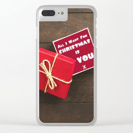 Best Gift Ever Clear iPhone Case