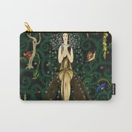1921 Classical Masterpiece 'Flowers and Flames' by Kay Nielsen Carry-All Pouch