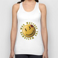 watchmen Tank Tops featuring Who Watches The Watchmen? by Jack Allum