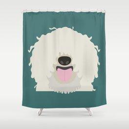Puli Shower Curtain