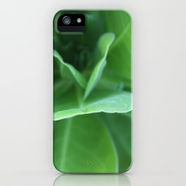 Tropical Sea Greens iPhone Case