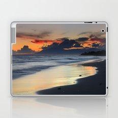 Magic red clouds. Sea dreams Laptop & iPad Skin