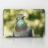 pigeon iPad Cases featuring Pigeon by Vishal Wadhwani