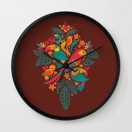 Tropicana (retro) Wall Clock