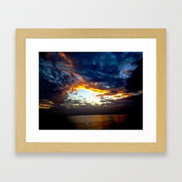 Dark Days Framed Art Print