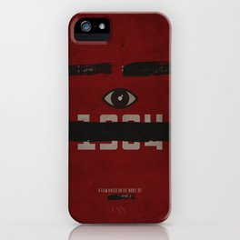 George Orwell's 1984 Inspired Vintage Movie Poster iPhone Case