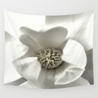 classy Wall Tapestries featuring Classy Magnolia by ThePhotoGuyDarren