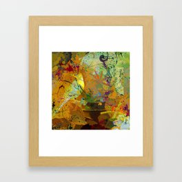 Cultural Layer Framed Art Print